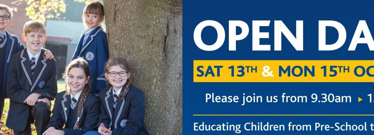 October 2018 Open Day Banner